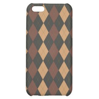 Argyle Case iPhone 5C Cases