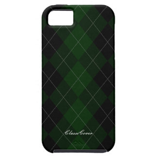 Argyle Dark Forest Green Pattern Case Mate