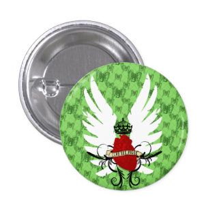 argyle des anges 3 cm round badge