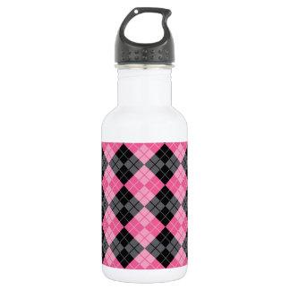Argyle Design 532 Ml Water Bottle