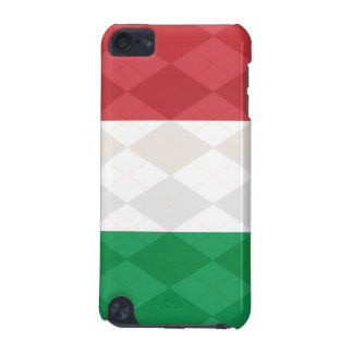 Argyle Flag of Italy iPod Touch 5G Cases