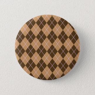 Argyle Flair 6 Cm Round Badge