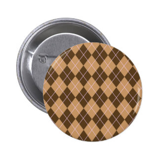 Argyle Flair 6 Cm Round Badge
