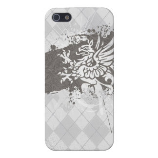 Argyle Griffon Cover For iPhone 5