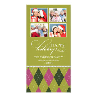 ARGYLE HOLIDAYS  | HOLIDAY PHOTO CARD