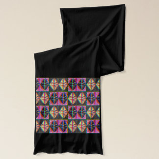 Argyle Leaves Scarf