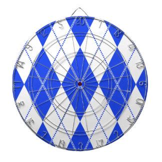 Argyle Pattern 1 Blue Dartboards