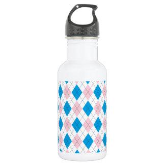 Argyle Pattern 532 Ml Water Bottle