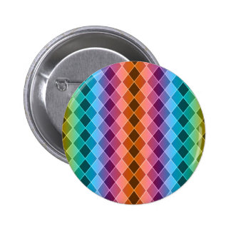 Argyle pattern pinback buttons