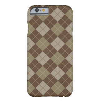 Argyle Pattern Barely There iPhone 6 Case
