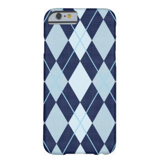 ARGYLE PATTERN BLUE | iPhone Case Barely There iPhone 6 Case