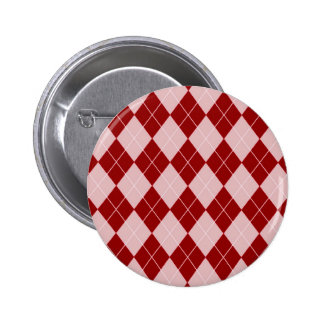 Argyle Pattern in Red Pin