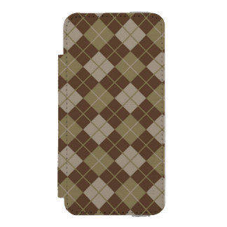 Argyle Pattern Incipio Watson™ iPhone 5 Wallet Case