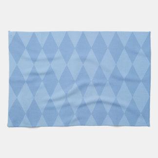 Argyle Pattern Kitchen Towels