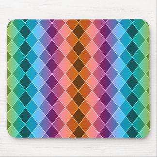 Argyle pattern mouse pads
