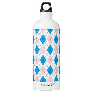 Argyle Pattern SIGG Traveller 1.0L Water Bottle