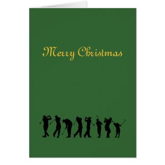 Argyle plaid Christmas card.. Card