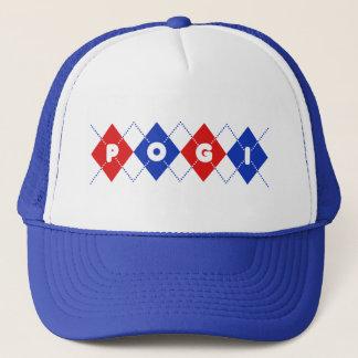 Argyle Pogi Trucker Hat