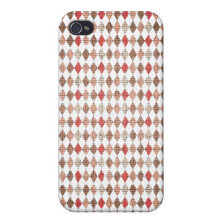 Argyle print pattern iPhone 4/4S covers