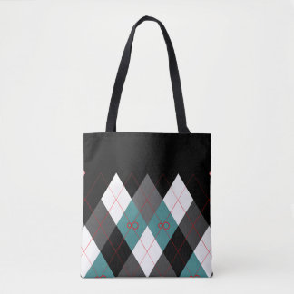 Argyle Revisited 3 Tote Bag