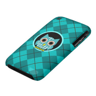 argyle with owl iPhone 3 Case-Mate cases
