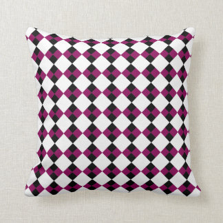 Argyll Ivory (Red-Violet) Pillow Cushion