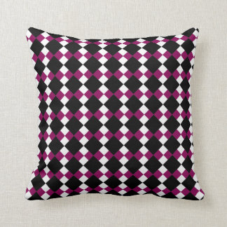 Argyll (Red-Violet) Pillow Cushion