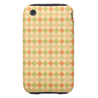 Argylle Pattern iPhone 3G/3GS Barely There Case iPhone 3 Tough Case