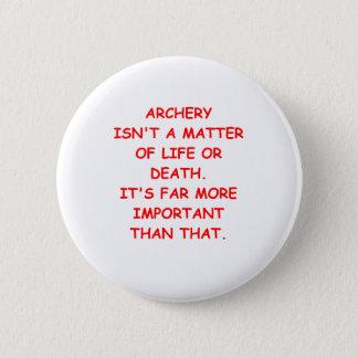 arhery 6 cm round badge