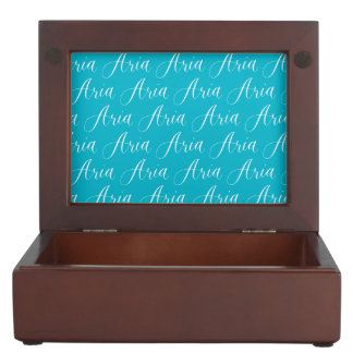 Aria - Modern Calligraphy Name Design Memory Box