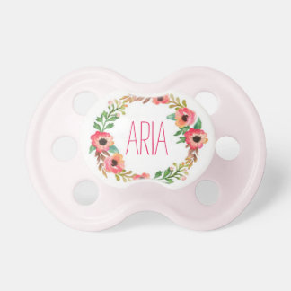 """""""Aria"""" Simple & Elegant Personalized Name Pacifier"""