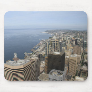 Arial View of Seattle Mouse Pad