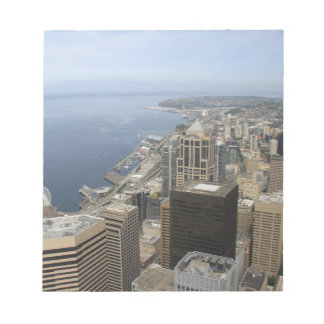 Arial View of Seattle Notepad