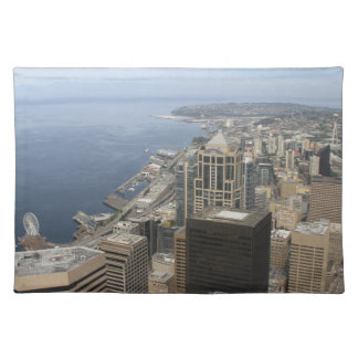 Arial View of Seattle Placemat