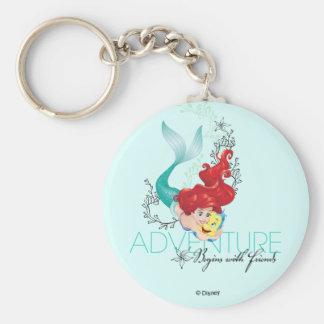 Ariel | Adventure Begins With Friends Key Ring