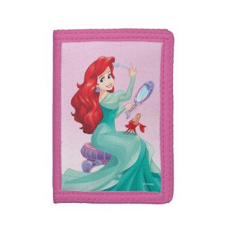 Ariel And Sebastian Tri-fold Wallet
