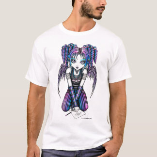 Ariel Cute Emo Drawing Fairy Kids Top