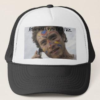 Ariel face paint hat