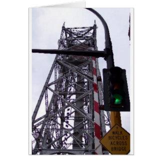 Ariel Lift Bridge Greeting Card
