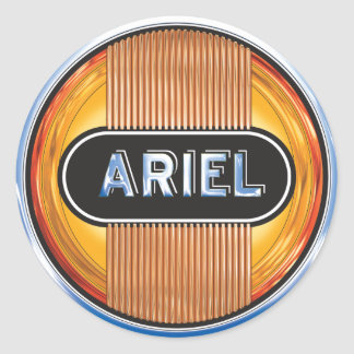 Ariel Motorcycles Classic Round Sticker