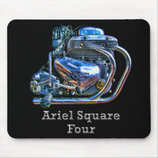 Ariel Square Four Motorcycle Engine Mousemat