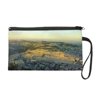 Ariel View of the Mount of Olives Jersalem Israel Wristlet