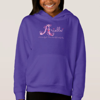 Arielle girls A name meaning monogram apparel