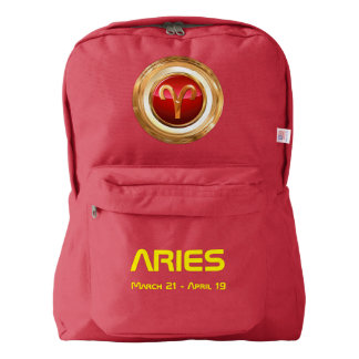 Aries Astrological Sign Backpack