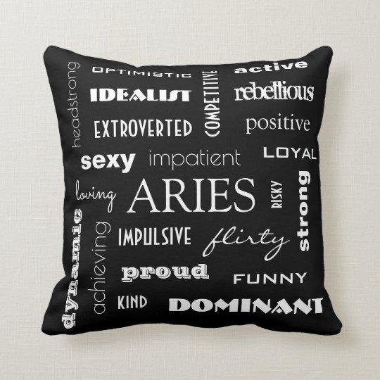 Aries Astrology Cushion