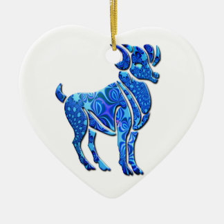 Aries Astrology Ornament