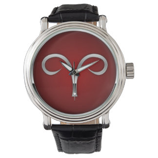Aries Astrology Zodiac Sun Sign Men's Watch