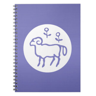 ARIES Astrology Zodiac Symbol Note Books