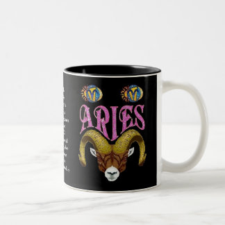 Aries Birth Sign Zodiac Mug