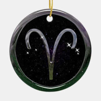 Aries Ceramic Ornament